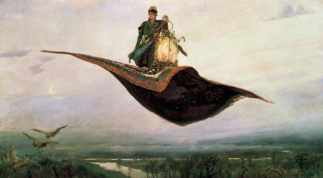 Mike Tucker's Magic Carpet Ride